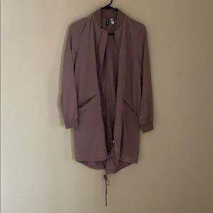 H&M parka style trench coat